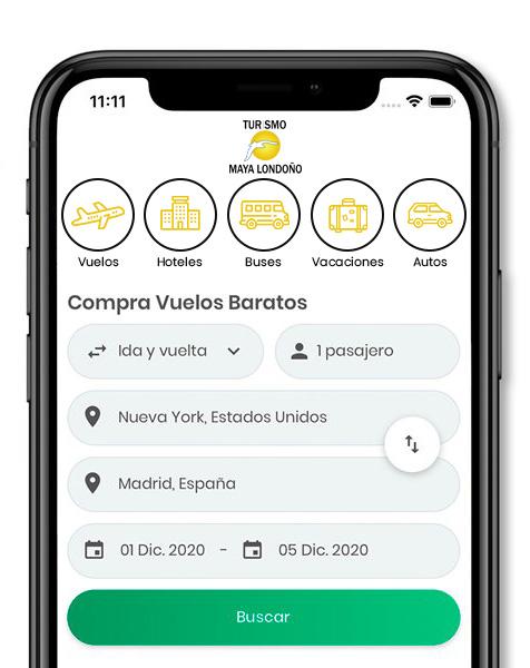 App Turismo Maya